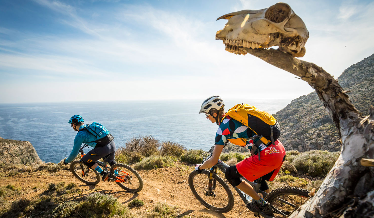 Mountain Biking on Leros Island, Best of Leros Route