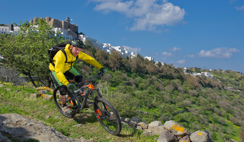Mountain Biking Patmos Island
